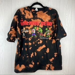 Other - Walking Dead AMC Upcycled T-shirt